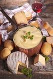 Aligot, fondue τυριών Στοκ Εικόνα