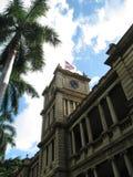 Aliiolani instämmer, Honolulu, Oahu, Hawaii Arkivfoton