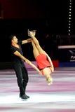 Alijona en Robin bij Toekenning van de Vleet van 2011 de Gouden Royalty-vrije Stock Fotografie