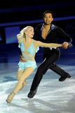 Alijona and Robin at 2011 Golden Skate Award Stock Image