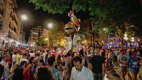 Alikante, Spain - June 25, 2016: Spanish holiday San Juan stock video footage