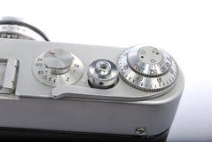 3 ALIMENTÉS, télémètre russe 35mm, 61 industar Images stock