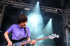 Aliment band, perform at Heineken Primavera Sound 2013 Festival Stock Photos