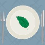 Aliment biologique illustration stock