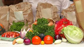 Aliment biologique photo stock