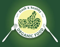 Aliment biologique Photographie stock libre de droits