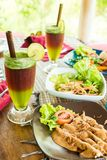 Aliment biologique de Bali Photo libre de droits