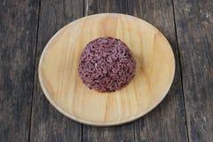 Aliment biologique riceberry thaïlandais image stock