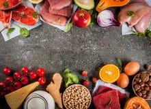 Aliment biologique sain images stock