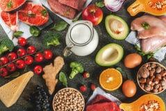 Aliment biologique sain photos libres de droits