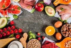 Aliment biologique sain photographie stock
