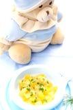 Aliment pour bébé Photos stock