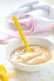 Aliment pour bébé frais Photos stock