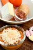 Aliment pour bébé sain Photo stock
