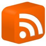 Alimentação de RSS Imagens de Stock Royalty Free