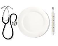 Alimentações da profissão doutor EPS ilustração royalty free