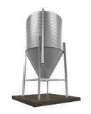Alimentación a granel Silo ilustración del vector