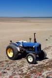 Alimentador azul de la playa Fotos de archivo libres de regalías