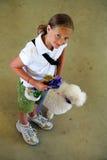 Alimentador de cão do campeão Foto de Stock Royalty Free