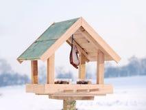 Alimentador do pássaro Imagens de Stock