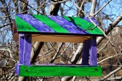 Alimentador 3 do pássaro imagens de stock