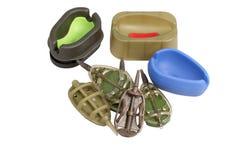 Alimentador três molde e cinco de pesca Imagens de Stock Royalty Free