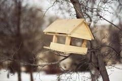 Alimentadores del pájaro Imagen de archivo libre de regalías