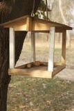 Alimentadores del pájaro que cuelgan en el árbol Foto de archivo libre de regalías