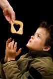 Alimentando os pobres Foto de Stock Royalty Free