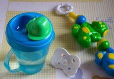 Alimentar-garrafa Imagem de Stock