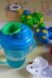 Alimentar-garrafa Imagens de Stock