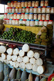 Alimentari vietnamiti, mercato all'aperto dell'agricoltore Fotografia Stock Libera da Diritti