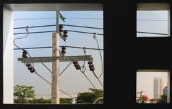 Alimentation d'énergie pendant la vie images libres de droits