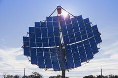 Alimentation d'énergie solaire pour la banlieue noire de Windorah Photographie stock