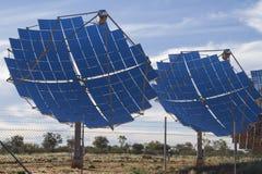 Alimentation d'énergie solaire pour la banlieue noire de Windorah Photos stock
