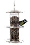 Alimentatore dell'uccello fotografie stock