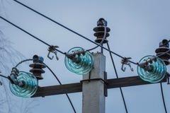 Alimentazione elettrica, cavi Immagini Stock