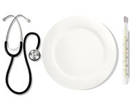 Alimentazioni di professione medico ENV Immagini Stock Libere da Diritti