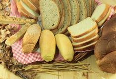 Alimenti al forno Immagine Stock