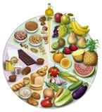 Alimenti antiossidanti Fotografia Stock