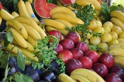 Alimenti colourful differenti Fotografie Stock