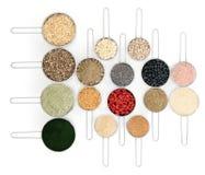 Alimenti del body building Fotografie Stock Libere da Diritti