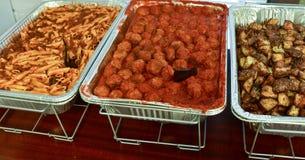 Alimenti del servizio all'evento o al partito Immagine Stock Libera da Diritti