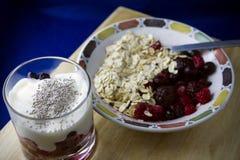 Alimenti di prima colazione Immagine Stock