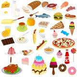 Alimenti e bevande illustrazione di stock