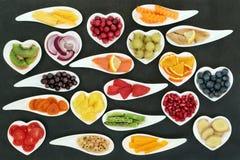 Alimenti eccellenti sani Fotografia Stock Libera da Diritti