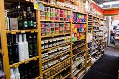 Alimenti finlandesi tradizionali del negozio Immagini Stock