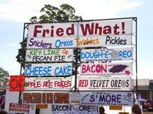 Alimenti fritti fiera dello stato Fotografia Stock