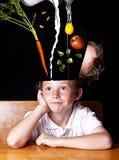Alimenti il vostro cervello Immagini Stock Libere da Diritti