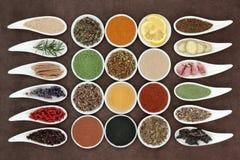 Alimenti il vostro sistema immunitario Fotografie Stock